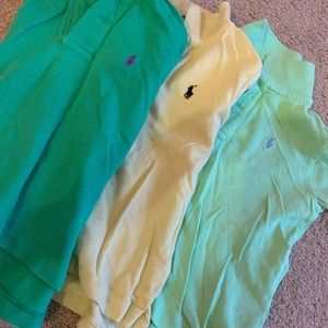 Polo shirts for boys size 2T